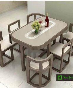 set meja makan retro